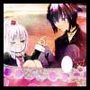 Amu and Ikuto by HauoJudai