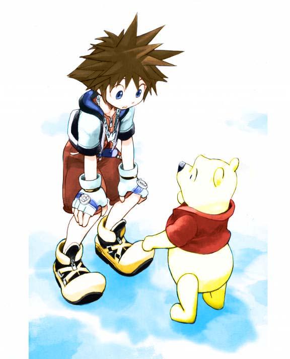 Sora With Winnie The Pooh By HauoJudai On DeviantArt