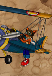 The Orange Baron by fizzreply