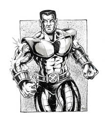 Colossus Sketch by kyle-roberts