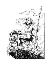 Huntress by kyle-roberts