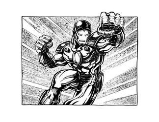 Iron Man by kyle-roberts