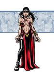 Vampirella by kyle-roberts