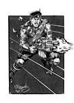 Sniper (Black Flag) sketch by kyle-roberts