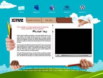 XITUS.COM Web Interface by aryaz