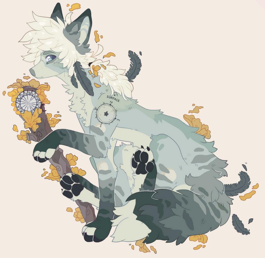 custom fox / wolf by wqlf