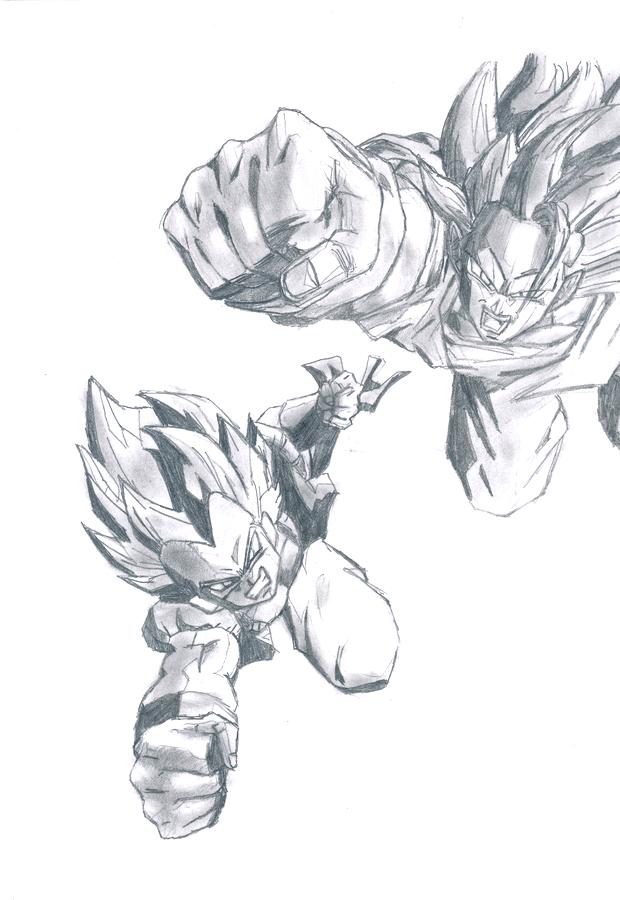 Goku / Gotrunks by Teen-H