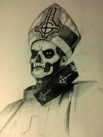 Papa Emeritus II by AndreySkull