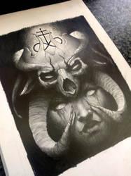 satanic by AndreySkull