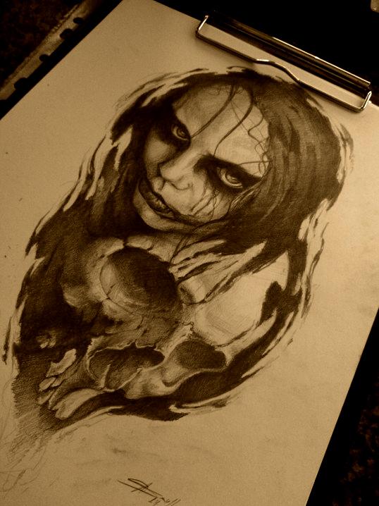 face-skull by AndreySkull