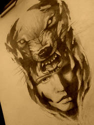 wolf by AndreySkull