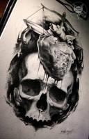 skull by AndreySkull
