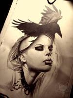 raven by AndreySkull