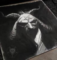 demonic CD cover by AndreySkull