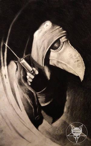 Plague doctor by AndreySkull
