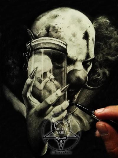 clown by AndreySkull