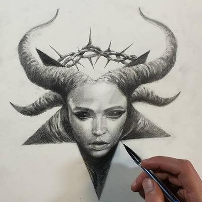 pentagram by AndreySkull