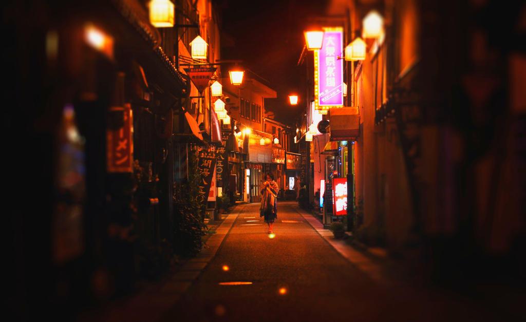 Lantern Lanes by DebaratiDas
