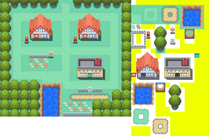 Pallet Town Rips by PixelMister