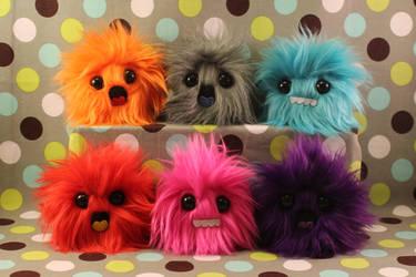 Monster Puffs! by geekygamergirl
