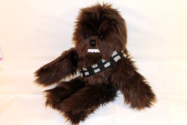 Wookie Plushie by geekygamergirl