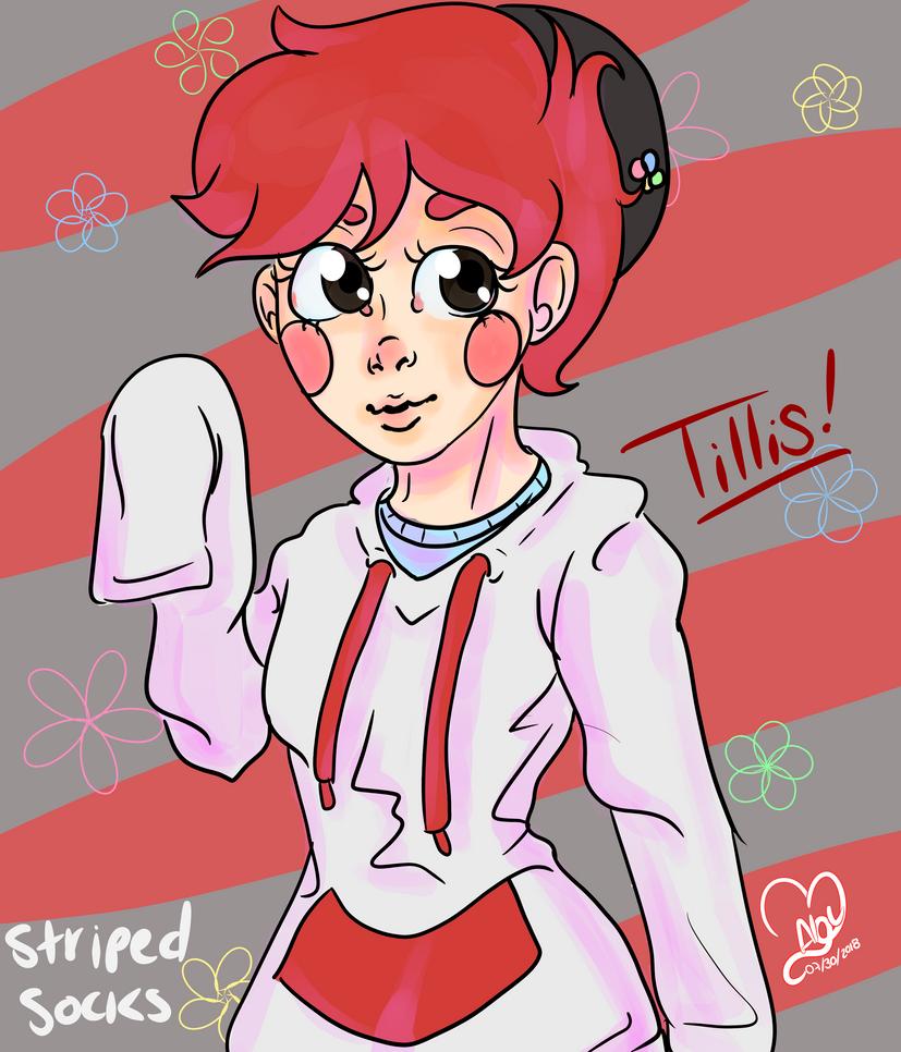 Tillis (Striped socks) by B-AbyRC
