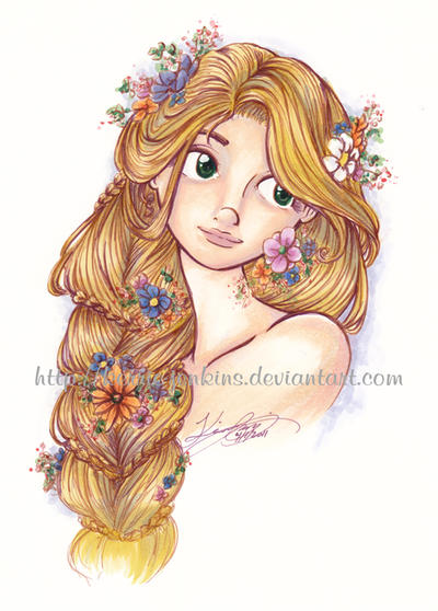 Punk Rapunzel Drawing Tumblr