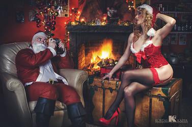 ...be naughty for Santa! by KostasKappa