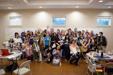 dA 10th Birthday Austin Meet by phlezk