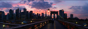 A New York Sunset by phlezk