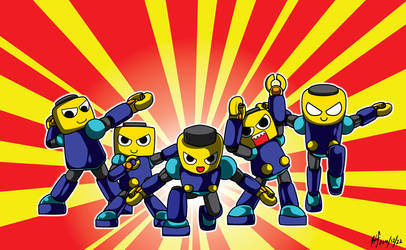 Rockman DASH - Kobun Special Forces by HechEff