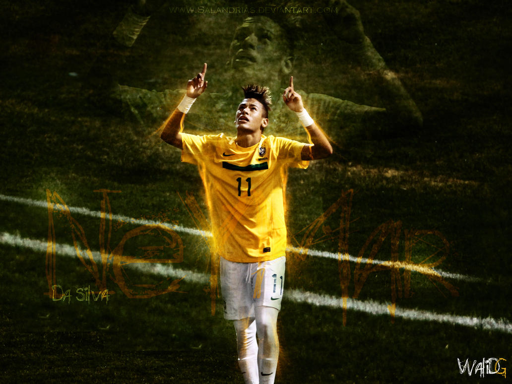 Neymar da silva wallpaper by salandrias on deviantart
