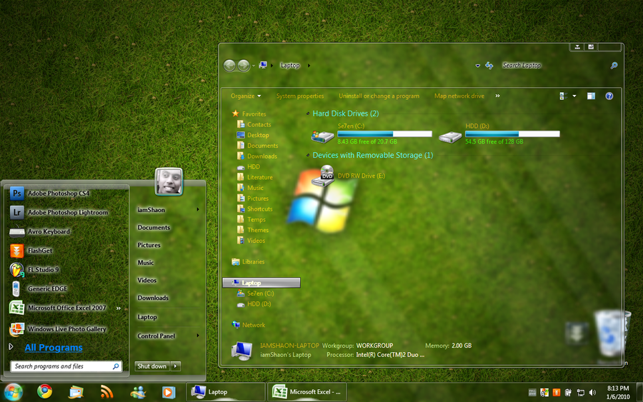 The rebound a tech podcast in windows 7 fandeluxe Image collections