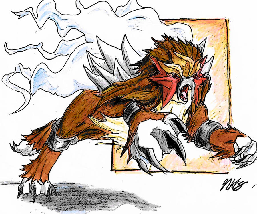 Legendary Dogs Fire Red