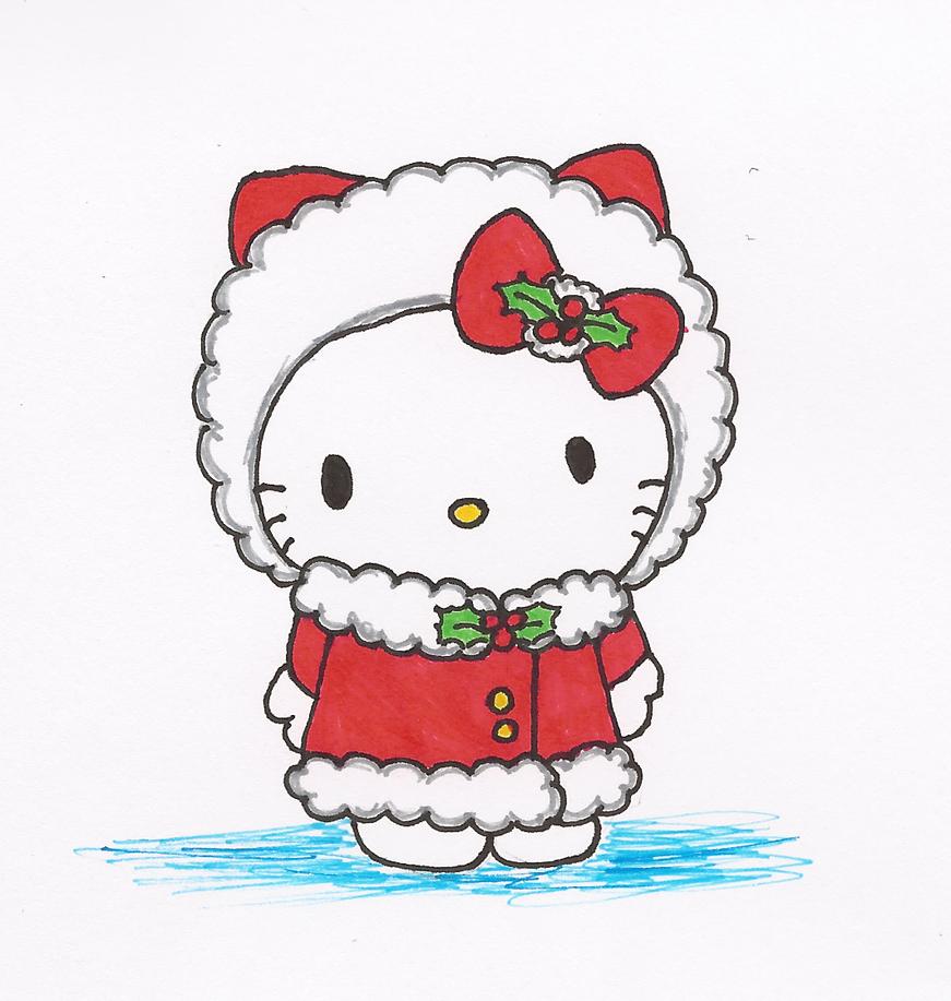 Winter Hello Kitty by PhantomDragonZX on DeviantArt