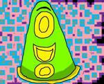 Cute Green Tentacle