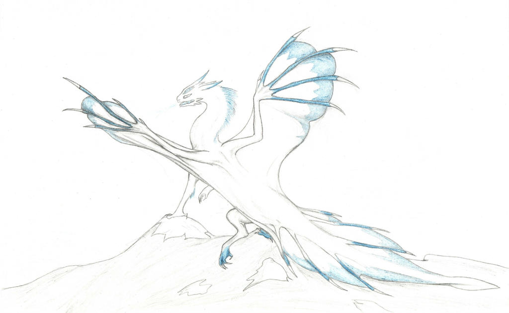 Mountain Ice Dragon By Flying With Dragons On DeviantArt