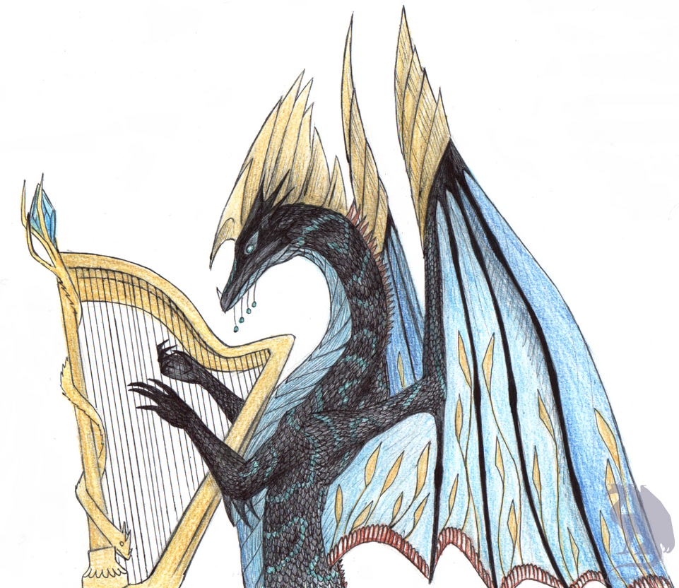 Urthemiel, god of beauty by Flying-With-Dragons