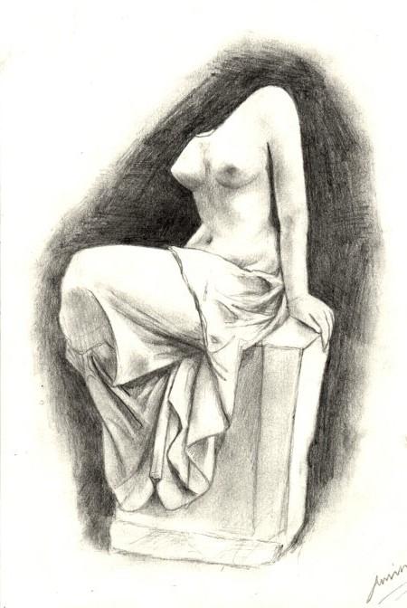 Statue de la femme by Amy-Hotchic