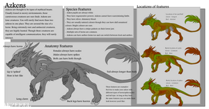 [Species Sheet] Azken - Open Species by Arkeriel