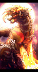 The Child of the Sun by Arkeriel