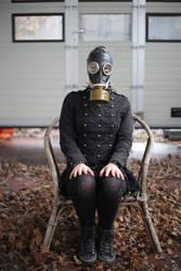 Jenny 06 - gas mask