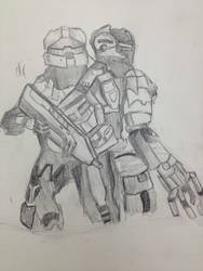 dead space and halo