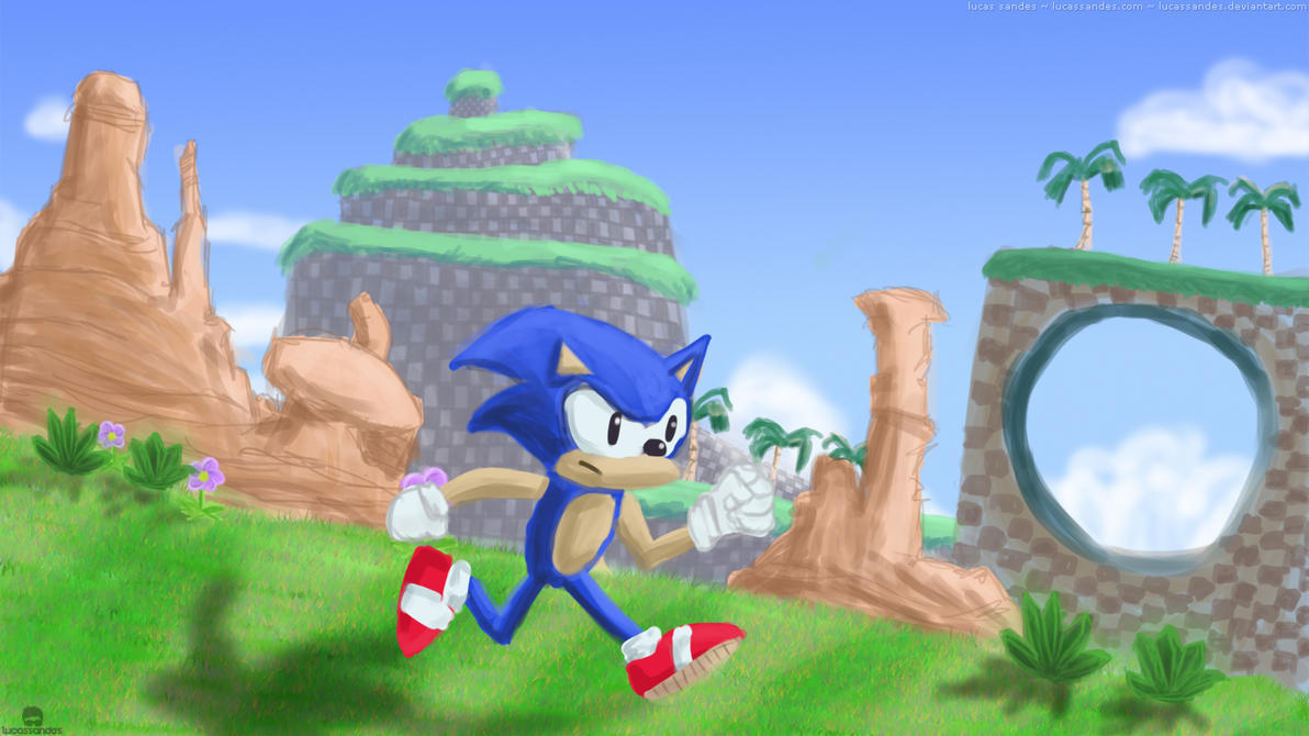 Sonic Generations Wallpaper by LucasSandes