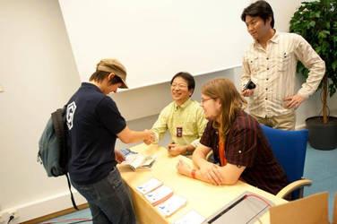 Meeting Yoshihiro Takahashi by Naime8
