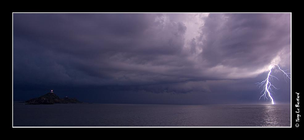 Lightning - Lighthouse by TonyLeBastard
