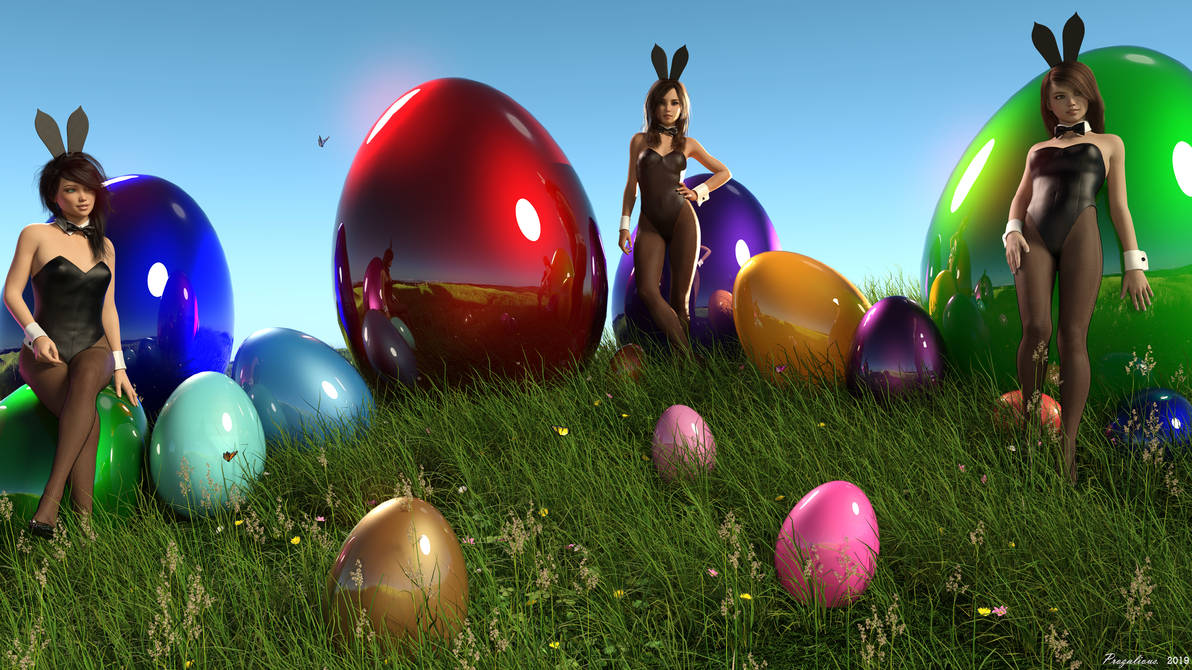 Easter 2019 with Sophie, Kristy and Natalia 4K by Prozalious