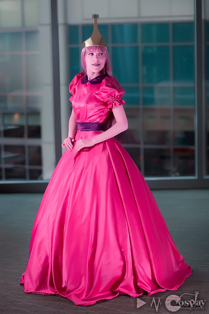 I want it made from a satin with stretch (optional) or a dull satin. That way its not too shiny but it still has some sheen to it. I need everything except ...  sc 1 st  Cosplay.com & ? Princess Bubblegum from Adventure Time ~ - Cosplay.com