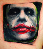 the joker tattoo by carlyshephard