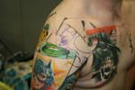 graphic novel tattoo so far...